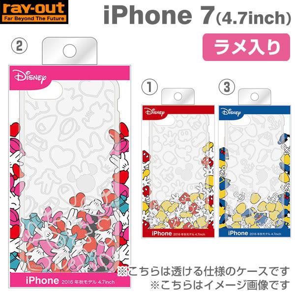 日本Hamee 迪士尼Disney經典角色 iPhone7專用TPU透明手機殼  -Stra6003