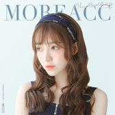 髮箍發箍韓國簡約寬邊頭飾發飾品發卡壓發帶成人打結頭箍女甜美復古女 曼莎時尚