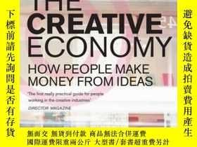 二手書博民逛書店The罕見Creative Economy-創意經濟Y436638 John Howkins Penguin