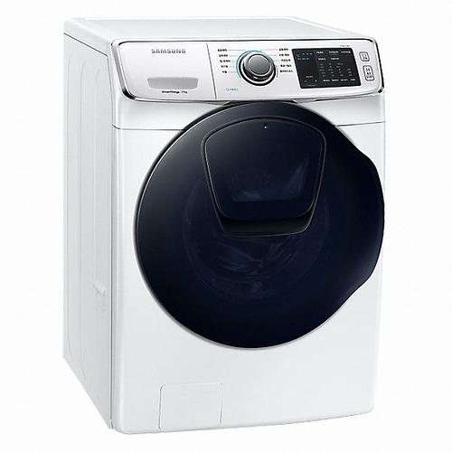 110/5/30前回函抽吸塵器 Samsung 三星 WD17N7510KW 17kg 洗脫烘 洗衣機 AddWash 潔徑門系列