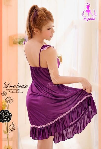 浪漫崛起!深紫睡襯衣 (OS shop)