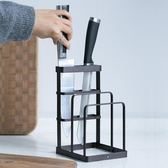 置刀架 歐式創意多功能刀架廚房置物架鐵藝砧板架家用菜刀刀具架 米蘭街頭