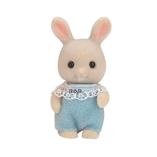《 森林家族 - 日版 》牛奶兔嬰兒 ╭★ JOYBUS玩具百貨