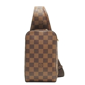 LOUIS VUITTON LV 路易威登  棋盤格斜背包 胸口包 腰包 Geronimos N51994