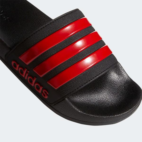 【現貨】Adidas ADILETTE SHOWER 男鞋 女鞋 拖鞋 防水 海灘 黑 紅【運動世界】EG1884