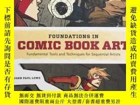 二手書博民逛書店Foundations罕見in Comic Book Art: