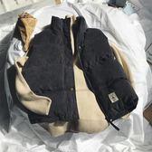 燈芯絨棉馬甲棉衣韓版寬鬆學生背心外套【聚寶屋】