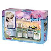 精靈世界娃娃屋系列 NO.7022 LISA & 廚具組【LINOOS】
