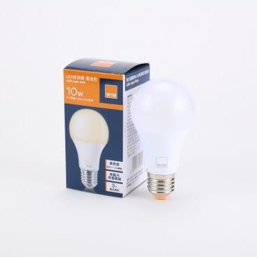 特力屋10W廣角LED燈泡 燈泡色