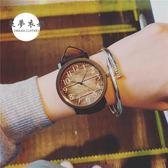 手錶韓版ulzzang時尚軟妹考試手錶女復古韓國潮流男中學生大錶盤【秋冬新品】