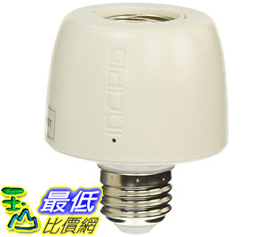 [107美國直購] 智能燈泡 Incipio CommandKit Wireless Smart Light Bulb Adapter with Dimming, WiFi