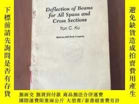 二手書博民逛書店Deflection罕見of Beams for All Spans and Cross Sections (各種