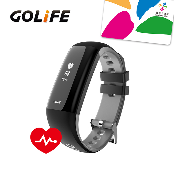 GOLIFE-Care Xe 智慧悠遊觸控心率手環