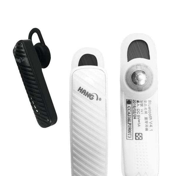 無線藍芽耳機 [保固3個月] 無線耳機 無線藍芽耳機 HANG W4 單耳 耳掛式 通話 中文語音