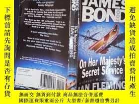 二手書博民逛書店On罕見Her Majesty s Secret Service: James Bond 007(詳見圖)Y6