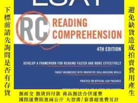 二手書博民逛書店Manhattan罕見Lsat Reading Comprehension Strategy Guide, 4th
