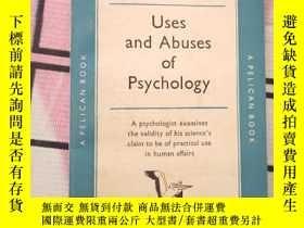 二手書博民逛書店外文書Uses罕見and Abuses of psycholog