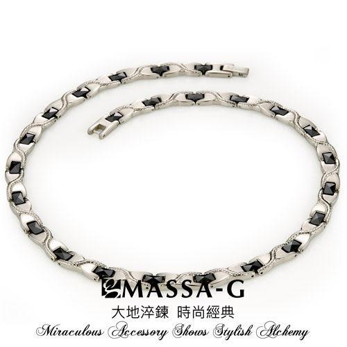 璀璨晶簡  純鈦項鍊  MASSA-G Deco系列