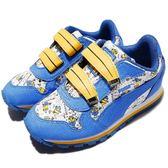 Puma 復古慢跑鞋 Minions ST Runner V PS 藍 黃 小小兵 魔鬼氈 香蕉 童鞋【PUMP306】 36401701
