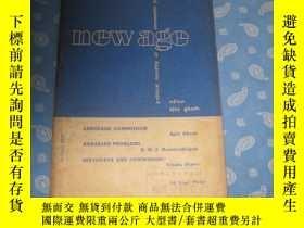 二手書博民逛書店NEW罕見AGE JANUARY 1958Y26008 請見照片