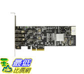 4 Port PCI Express (PCIe) SuperSpeed USB 3.0 Card Adapter 2 Dedicated 5Gbps PEXUSB3S42V