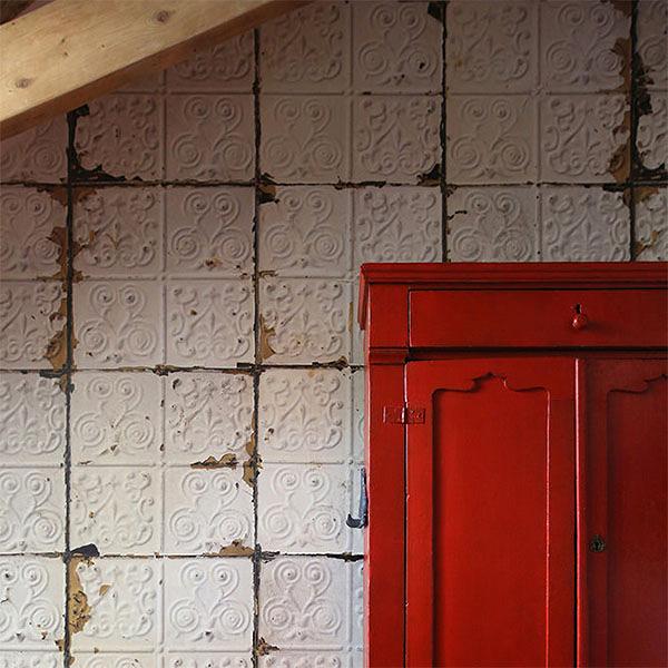 【進口牆紙】Brooklyn Tins by merci【訂貨單位48.7cm×10m/卷】荷蘭 仿真(fake) 磚紋 TIN-02