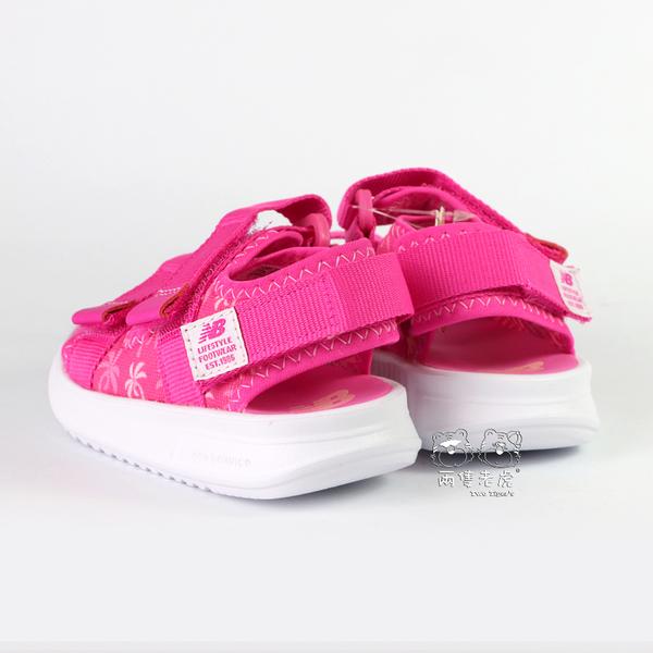 New Balance 桃紅 兒童涼鞋 小童鞋 NO.Y1468