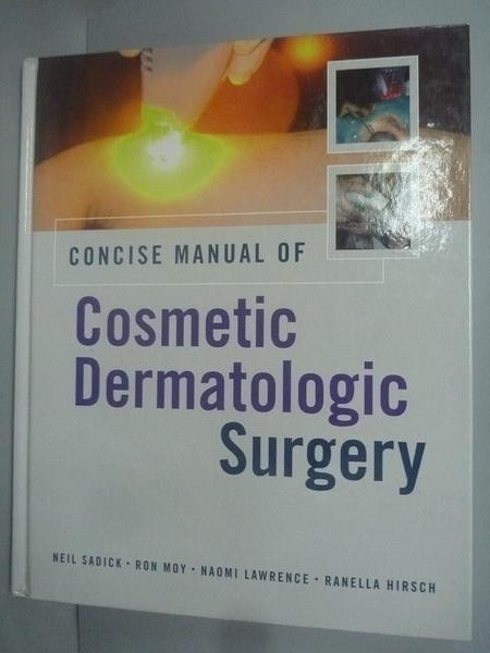 【書寶二手書T3/大學理工醫_ZCS】Concise Manual of Cosmetic Dermatologic S