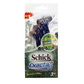 Schick舒適牌超鋒3輕便刀2+1入裝【康是美】