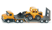 SIKU 德國小汽車 SIKU 平板拖車 (堆土機) SU1616