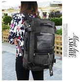 後背包女韓版超大容量旅行包多功能休閒雙肩背包男女潮時尚旅游包後背包 雙11返場八四折