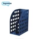 《享亮商城》36300-NV 海軍藍色 大型雜誌箱(附隔板) KAPAMAX
