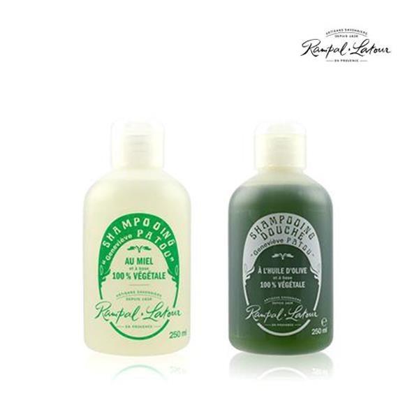 【南紡購物中心】【南法香頌】歐巴拉朵 忍冬蜂蜜洗髮精+特級橄欖油沐浴乳(250ml/瓶)
