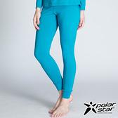 PolarStar 女 遠紅外線發熱褲『藍綠』排汗│遠紅外線│抗靜電│發熱褲 P14432