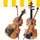 手工實木初學者兒童小提琴玩具高檔提琴可彈奏仿真樂器音樂演奏TT779『麗人雅苑』