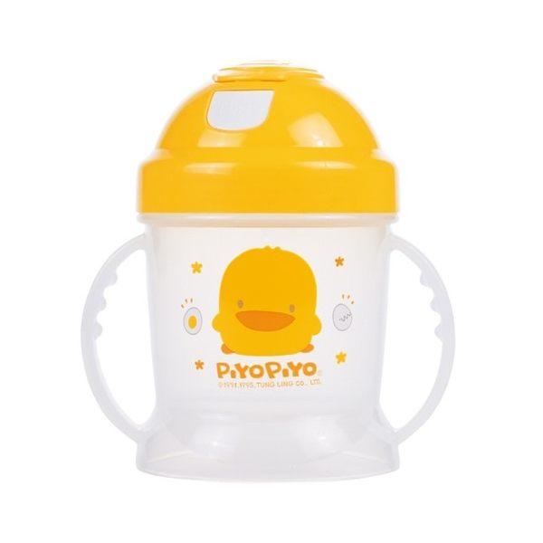 黃色小鴨 PiYO PiYO 彈跳吸管練習杯(250ml)
