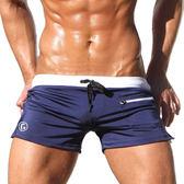 TADDLEE潮男泳褲 男士時尚泳衣性感平角寬鬆速幹泡溫泉男款遊泳褲