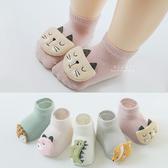 立體卡通動物嬰兒短筒襪 襪子 嬰兒襪
