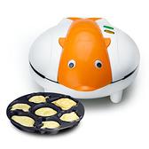 兒童卡通小型烘焙烤蛋糕機家用迷你餅鐺面包多功能全自動餅干機-享家