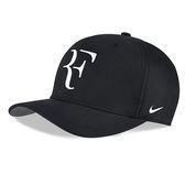Nike Federer 黑 帽子 費德勒 Aerobill 運動帽 網球帽 運動 電繡 軟款 可調整式 AH6985010