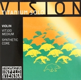小叮噹的店- 小提琴弦(整套) 奧地利 Thomastik Vision Titanium solo VIT100