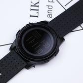 韓版簡約運動手錶港風電子表夜光防水多功能手錶學生男女表數字式WY