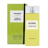 【AQUOLINA】Notebook 柑橘&綠茶 中性淡香水 100ml