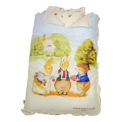 『121婦嬰用品館』狐狸村傳奇 高級純棉幼兒睡袋105*135cm(米)