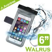 【風雅小舖】【Avantree Walrus運動音樂手機防水袋(可接防水耳機)】