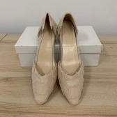 百搭尖頭鞋純色工作鞋低跟鞋(36-39號/121-6362)