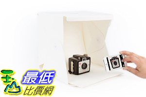 [美國直購] 攜帶式攝影棚 Foldio-Folding Portable Lightbox Studio for Smartphone or DSLR