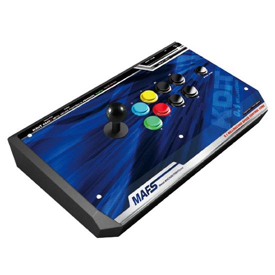 [哈GAME族]免運費 可刷卡 0.1毫秒極速晶片 德斯托 KDiT 凱迪特 KS4X+ 寶藍特仕版 金屬格鬥搖桿