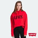 Levis 男女同款 重磅帽T / CNY限量系列 / 內裏紅迷彩 / Serif Logo