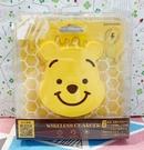 【震撼精品百貨】Winnie the Pooh 小熊維尼~造型無線充電盤-大頭*98103